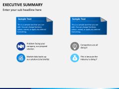 Executive summary PPT slide 11