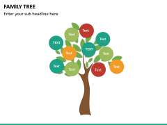 Family tree PPT slide 9