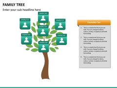 Family tree PPT slide 12