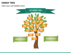 Family tree PPT slide 13
