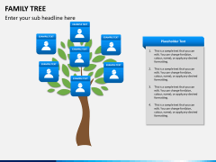 Family tree PPT slide 4