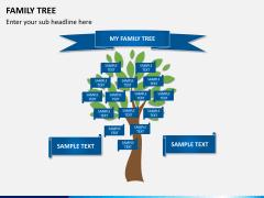 Family tree PPT slide 5