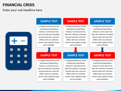 Financial crisis PPT slide 3