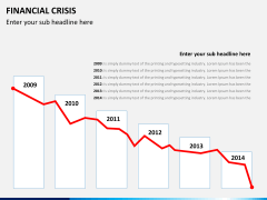 Financial crisis PPT slide 4