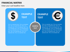 Financial matrix PPT slide 1