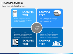 Financial matrix PPT slide 3