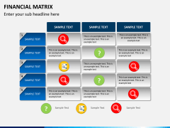 Financial matrix PPT slide 9