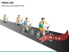 Finish line PPT slide 6