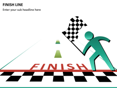 Finish line PPT slide 8