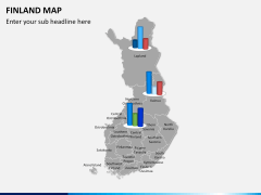 Finland Map PPT slide 12