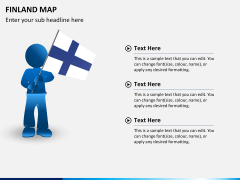 Finland Map PPT slide 18