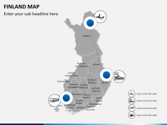 Finland Map PPT slide 6