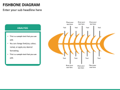 Fishbone diagram PPT slide 18