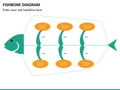 Fishbone diagram PPT slide 29
