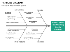 Fishbone diagram PPT slide 33