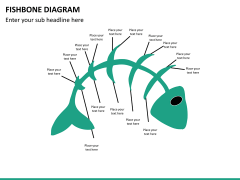 Fishbone diagram PPT slide 22