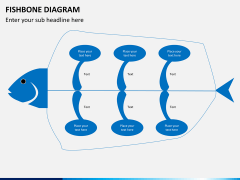 Fishbone diagram PPT slide 12