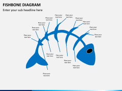 Fishbone diagram PPT slide 5