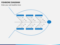 Fishbone diagram PPT slide 6