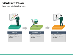 Flowchart visual PPT slide 9