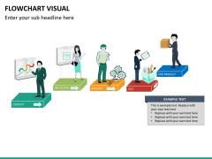 Flowchart visual PPT slide 10