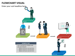 Flowchart visual PPT slide 12