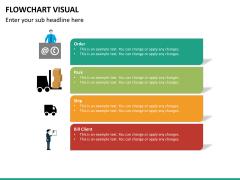 Flowchart visual PPT slide 13