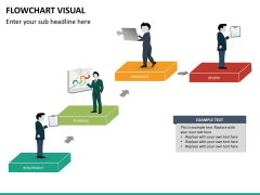 Flowchart visual PPT slide 16