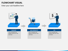 Flowchart visual PPT slide 1