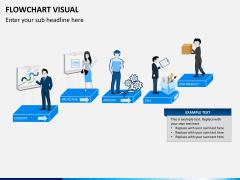 Flowchart visual PPT slide 2