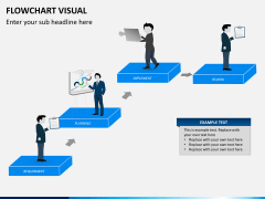 Flowchart visual PPT slide 8