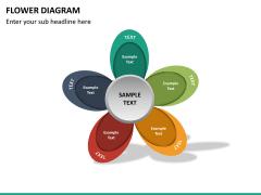 Flower diagram PPT slide 26