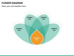 Flower diagram PPT slide 28