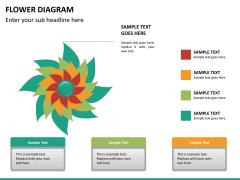 Flower diagram PPT slide 20