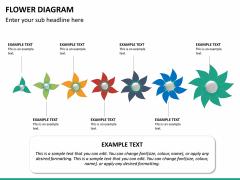 Flower diagram PPT slide 23