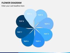 Flower diagram PPT slide 1