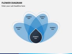 Flower diagram PPT slide 14