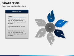 Flower petals PPT slide 7