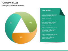 Folded circles PPT slide 6