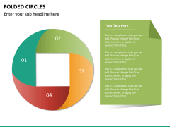 Folded circles PPT slide 7