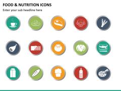 Food nutrition icons PPT slide 10