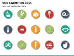 Food nutrition icons PPT slide 11
