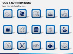 Food nutrition icons PPT slide 4