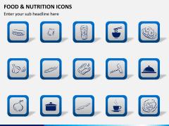 Food nutrition icons PPT slide 6