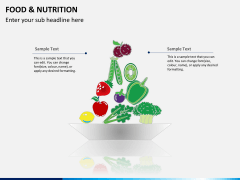 Food and nutrition PPT slide 2