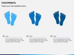 Footprints PPT slide 3