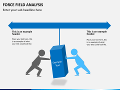 Force field analysis PPT slide 1