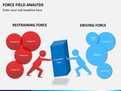 Force field analysis PPT slide 2