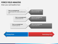 Force field analysis PPT slide 6