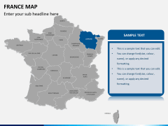 France map PPT slide 10